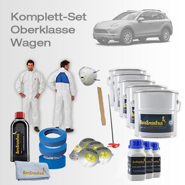 AutoSprühFolie Komplett-Set Oberklasse Wagen