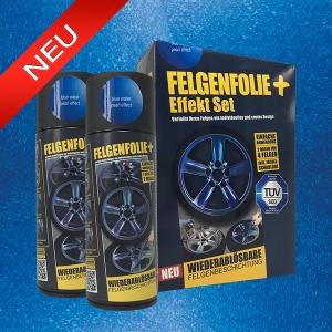 FELGENFOLIE+ Effekt Set, 2 x 400 ml, Perleffekt, Blue Water Pearl Effect (€ 3,75 / 100 ml)