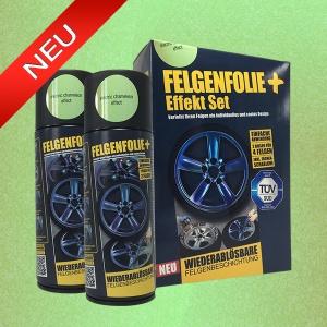 FELGENFOLIE+ Effekt Set, 2 x 400 ml, Chamäleon, Electric Chameleon Effect (€ 3,75 / 100 ml)
