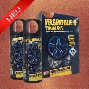 FELGENFOLIE+ Effekt Set, 2 x 400 ml, Kristalleffekt, Firebelly Copper Crystal Effect (€ 3,75 / 100 ml)