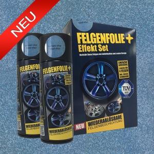 FELGENFOLIE+ Effekt Set, 2 x 400 ml, Kristalleffekt, Hurricane Silver Crystal Effect (€ 3,75 / 100 ml)