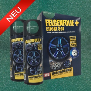 FELGENFOLIE+ Effekt Set, 2 x 400 ml, Chamäleon, Radioactive Chameleon Effect (€ 3,75 / 100 ml)