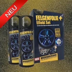 FELGENFOLIE+ Effekt Set, 2 x 400 ml, Perleffekt, Sun Gold Pearl Effect (€ 3,75 / 100 ml)