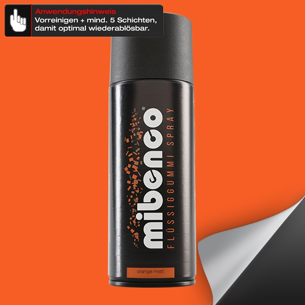 Flüssiggummi SPRAY, 400 ml, orange matt (€ 3,75 / 100 ml)