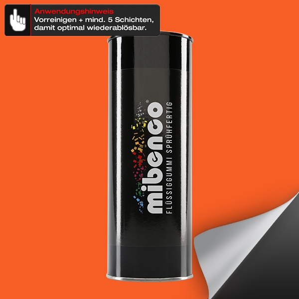 Flüssiggummi SPRÜHFERTIG, 1 l, orange matt (€ 29,95 / Liter)
