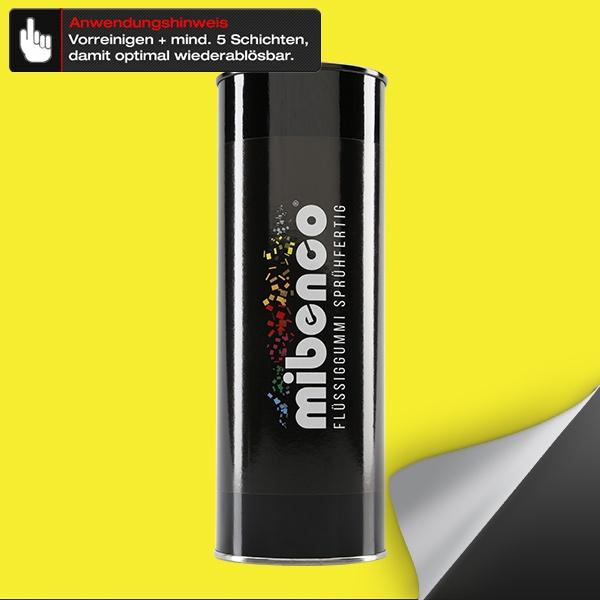 Flüssiggummi SPRÜHFERTIG, 1 l, schwefelgelb matt (€ 29,95 / Liter)