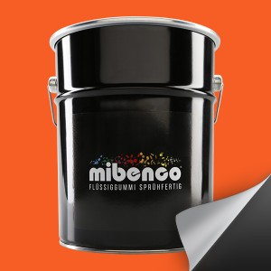 Flüssiggummi SPRÜHFERTIG, 5 l, orange matt (€ 23,99 / Liter)