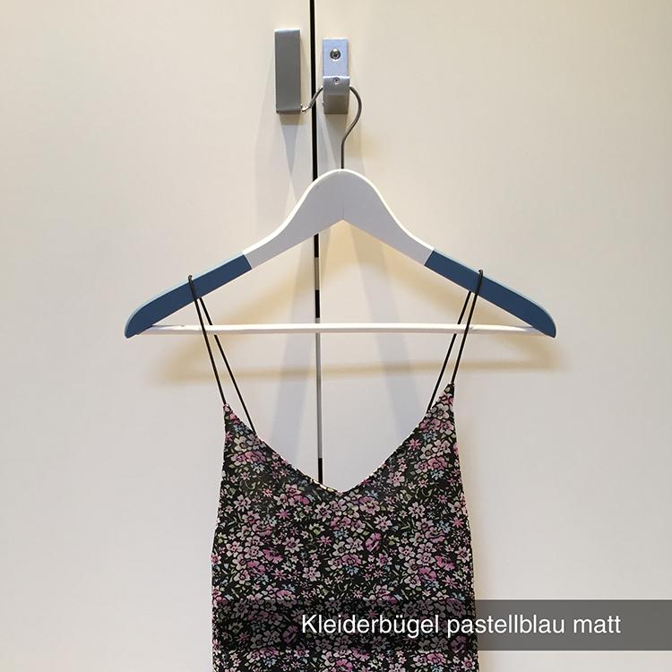 Kleiderbügel pastellblau matt