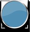 pastellblau glänzend