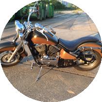 Motorrad Folie