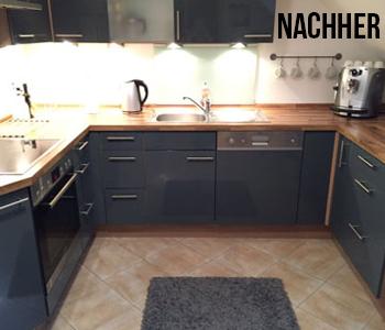 Küchenfront nachher