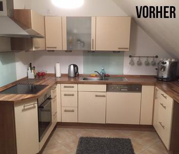 Küchenfront vorher