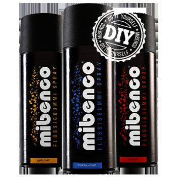 Möbel Folie Spraydosen von mibenco