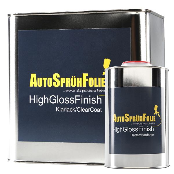AutoSprühFolie - HighGlossFinish für Sprühfolie